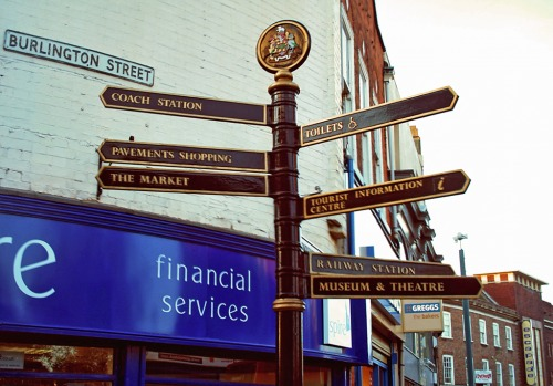Wayfinding and Typographic Signs - make-your-choice