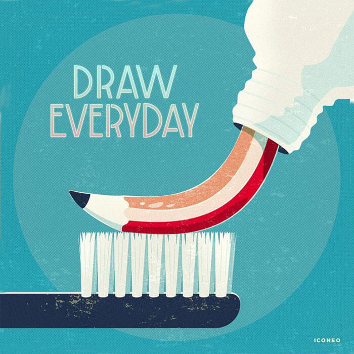 Colorful Inspiration For Gray Days: Illustration And Photography At Their Best