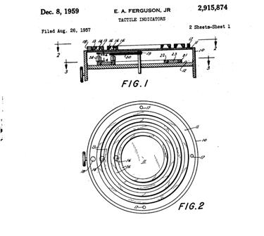 Image: Tactile patent design
