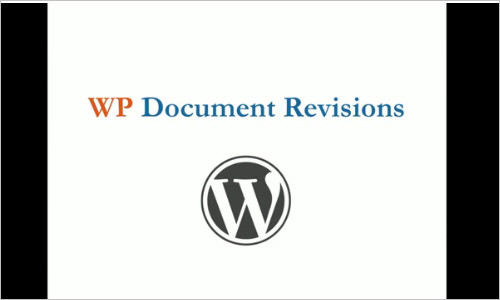 WP Document Revisions — Document Management for WordPress