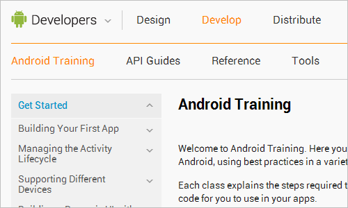 Android Training | Android Developers