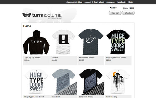 e1f0ae2e The Big Showcase Of Online T-Shirt Stores — Smashing Magazine