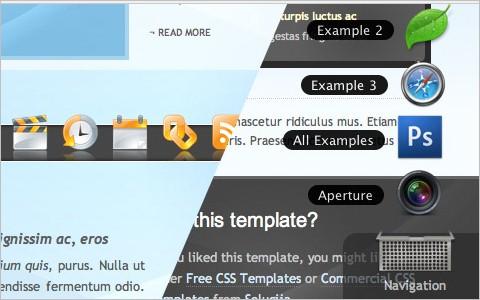 Leopard Desktop with jQuery using jqDock - Nettuts+