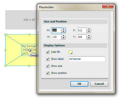 Placeholder Auto Shape: Choose What Content You Want on the Placeholder