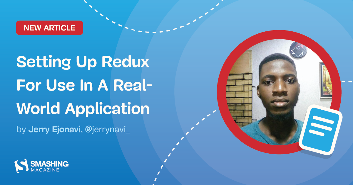 Setting Up Redux For Use In A Real-World Application