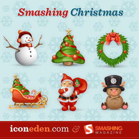 Smashing Christmas Icon Set