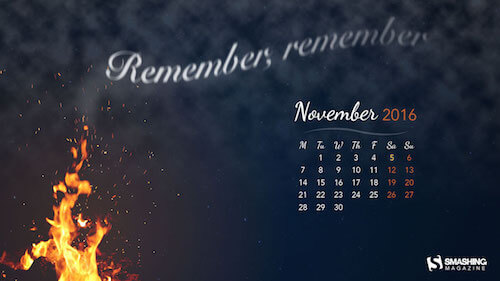Remember, Remember!