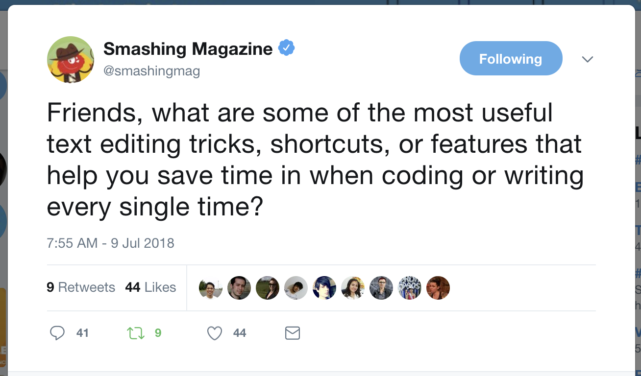 text editing tips and tricks roundup smashing magazine