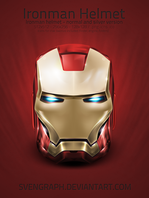 Free Icon Sets - ironman icon pack