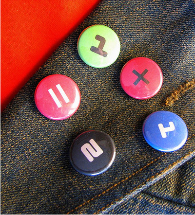 Pins, Badges and Buttons - : buttons