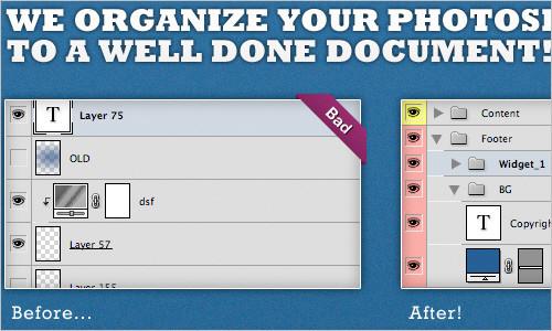 PSDcleanup.com - Organize your PSDs!
