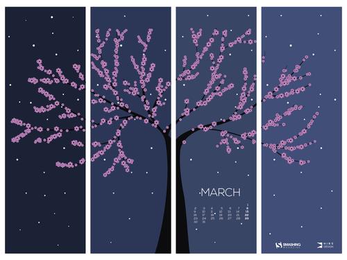 Spring awakening tree