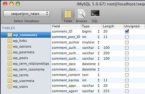 MySql Tools Screenshot