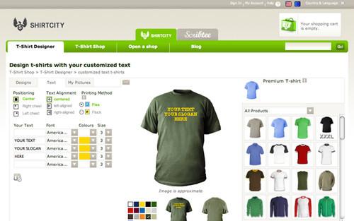 Design My Own Tee Shirt Online | The Big Showcase Of Online T Shirt Stores Smashing Magazine