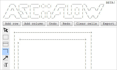 Asciiflow - ASCII Flow Diagram Tool