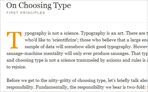 Useful Typography Resources - On Choosing Type