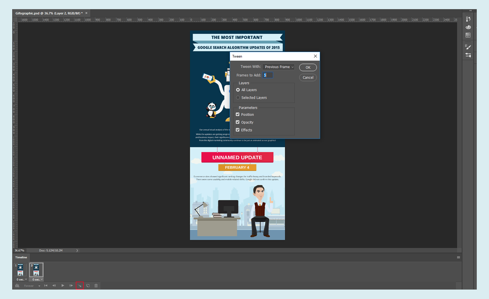 How To Convert An Infographic Into A Gifographic Using