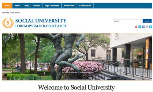 Academica: Free WordPress 3.0 Theme For Educational Websites — Smashing Magazine