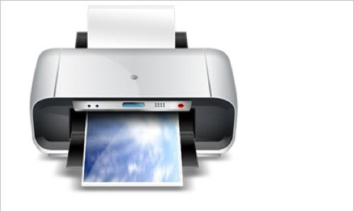 Photoshop Tutorial: Realistic, High quality printer icon