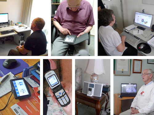 Examples of technology used by the elderly