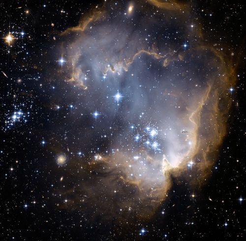 Space Photography - 2008 October 25 - NGC 602 and Beyond