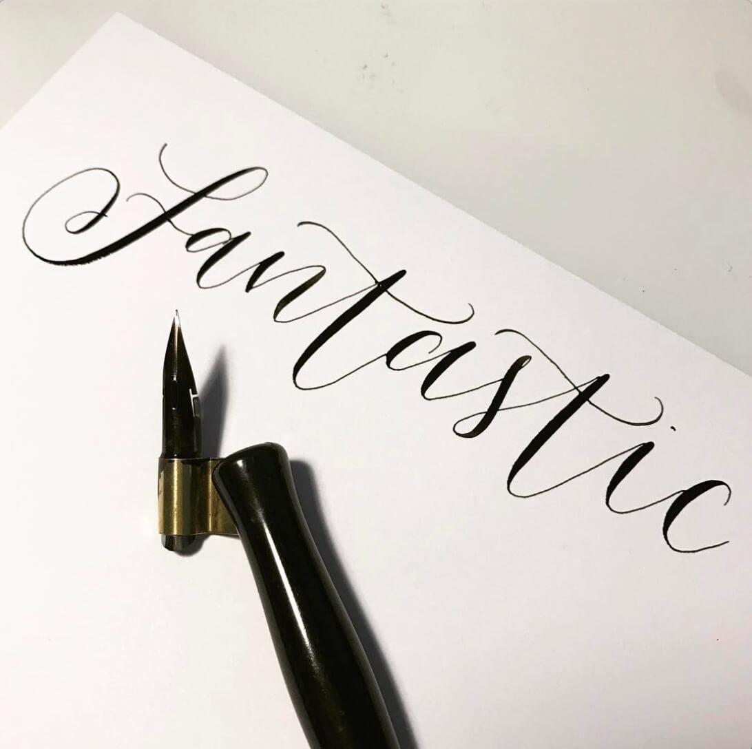 Left Handed Brush Lettering How To Get Started Smashing Magazine