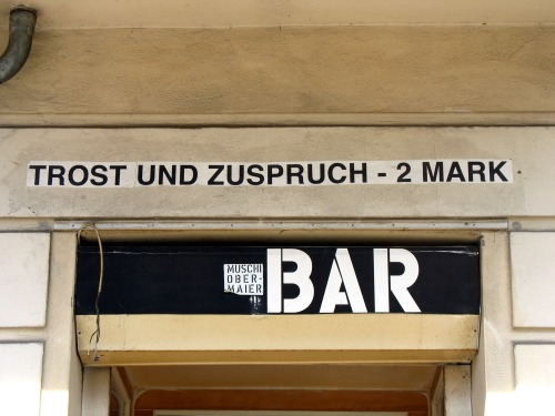 Wayfinding and Typographic Signs - consolation-and-encouragement