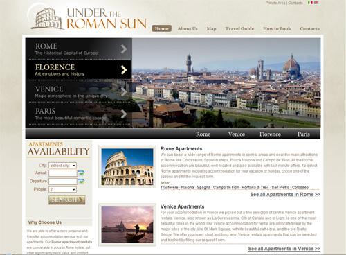 Under the roman sun