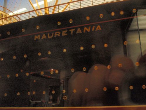 The Mauretania is no longer extant.