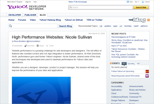 High-Performance Websites