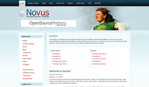 Novus by RocketTheme