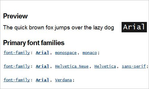 Arial :: font-family.com