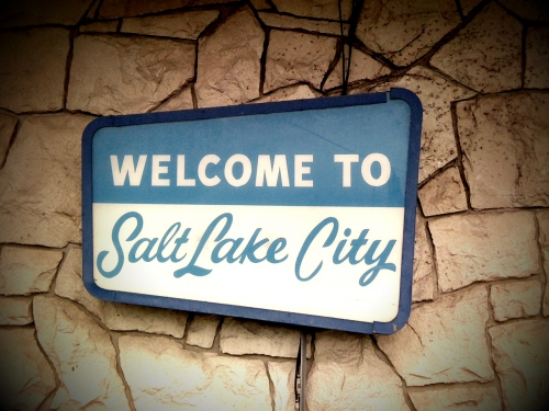 Wayfinding and Typographic Signs - welcome-to-salt-lake-city
