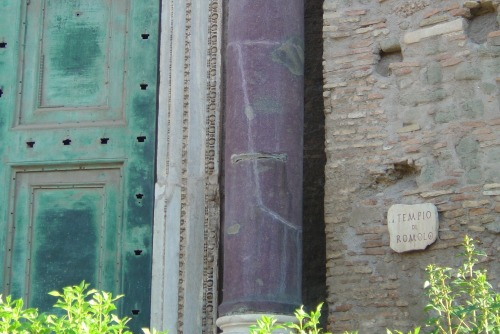 Wayfinding and Typographic Signs - temple-of-romulus