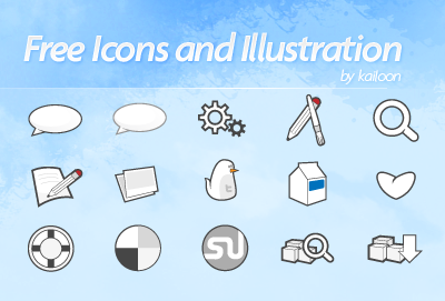 Free Icons Round-Up - Free Vector Icons Set + Twitter Birdy Icon