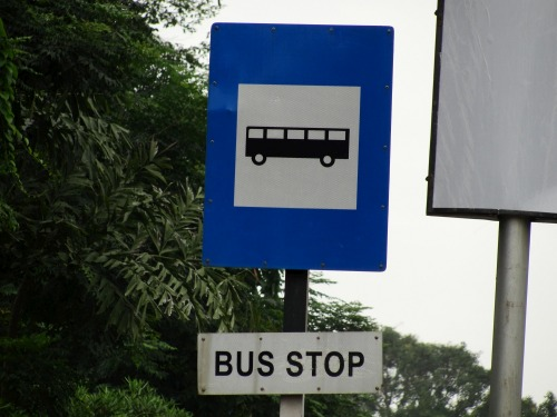Wayfinding and Typographic Signs - the-city-means-of-transport