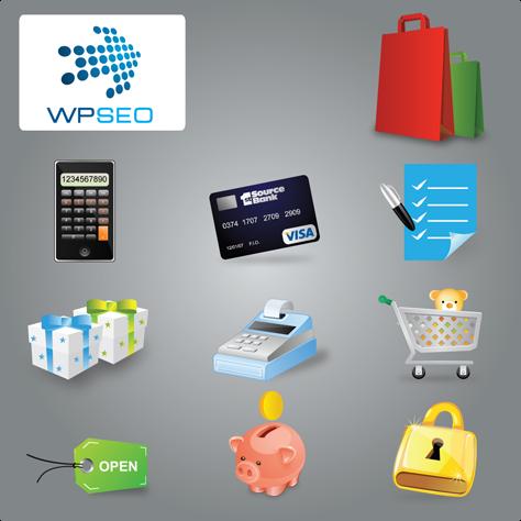 10 hochwertige, exklusive E-Commerce Icons