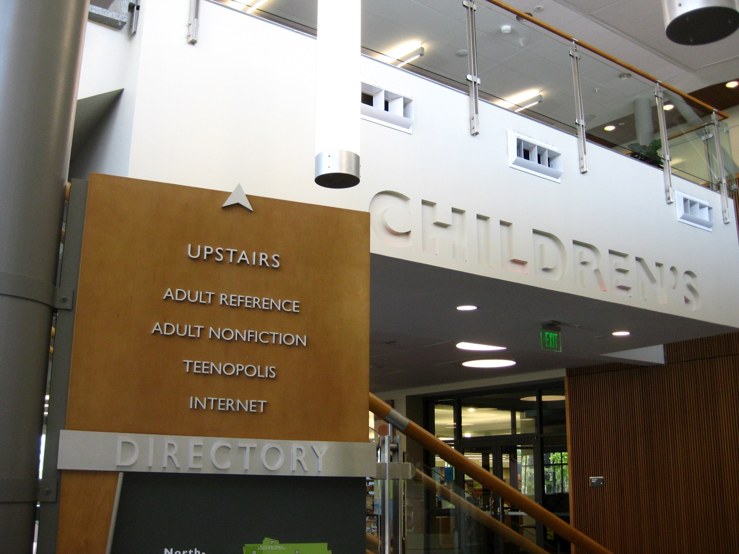hid signs interior directory building floor img products for signage