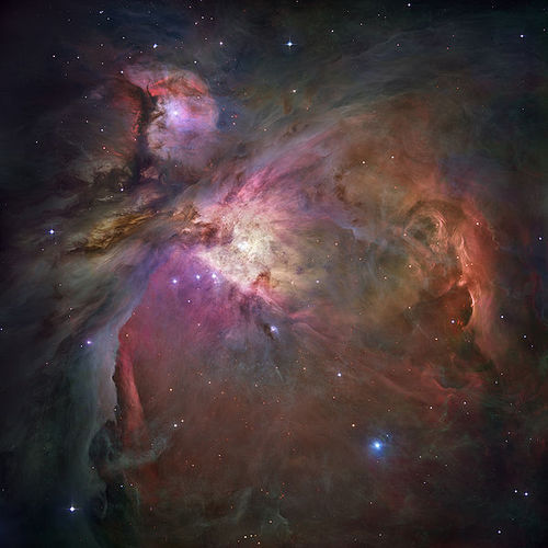 Space Photography - File:Orion Nebula - Hubble 2006 mosaic 18000.jpg
