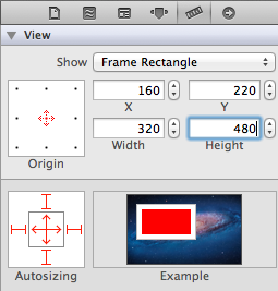 Image View Size Inspector