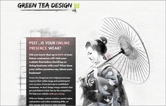 Green Tea Design