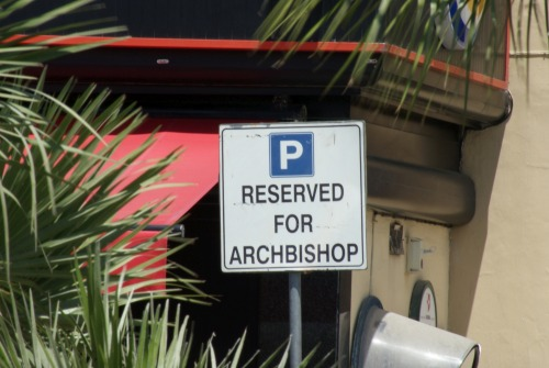 Wayfinding and Typographic Signs - heavenly-parking