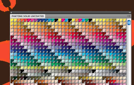 Pantone Colors Can Be Found Under Window Swatch Libraries Color Books