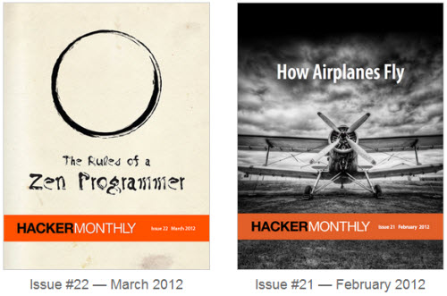 Hacker Monthly