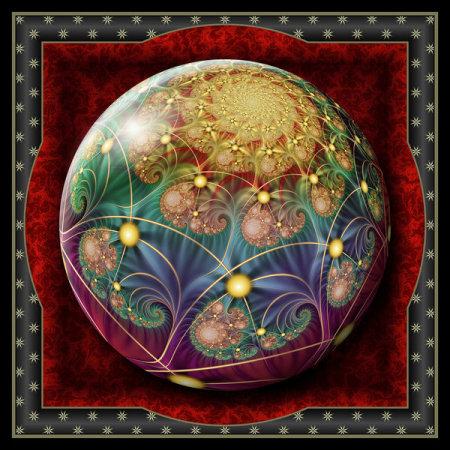 Gift Box Marble Festive Spirit