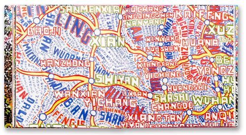 Paula Scher's Maps