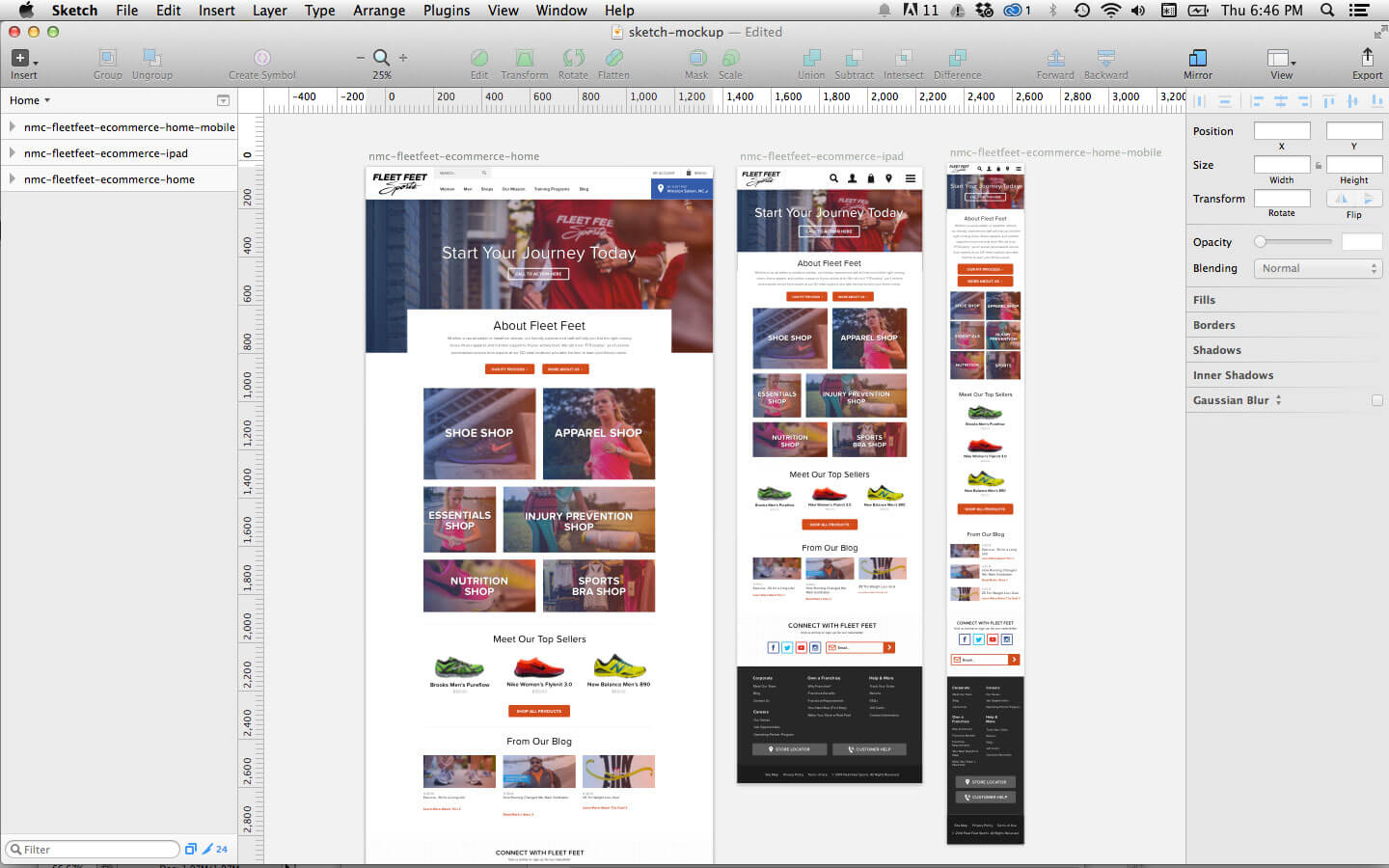 Using Sketch For Responsive Web Design A Case Study Smashing Magazine