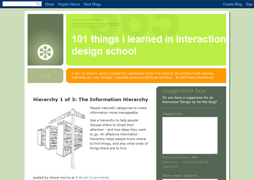 101 Things I Learned in Interaction Design School