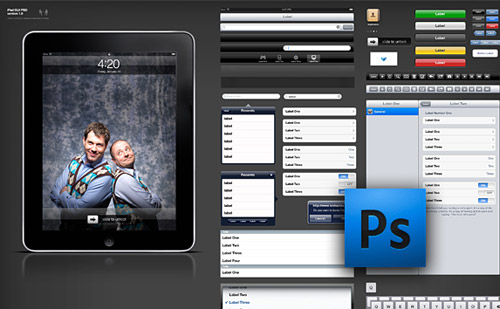 iPad GUI