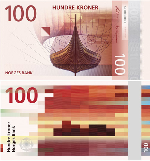 The New Norwegian Krone - Banknote Design